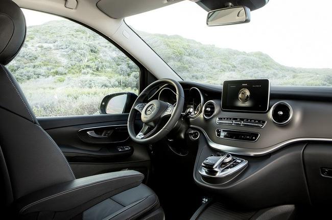 Mercedes-Benz V-Class: Sang trọng và hiện đại 20