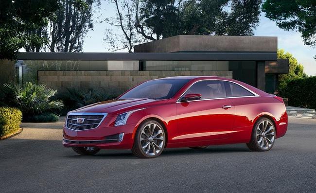 Cadillac ATS Coupe: Đối thủ mới của BMW 4-Series 1
