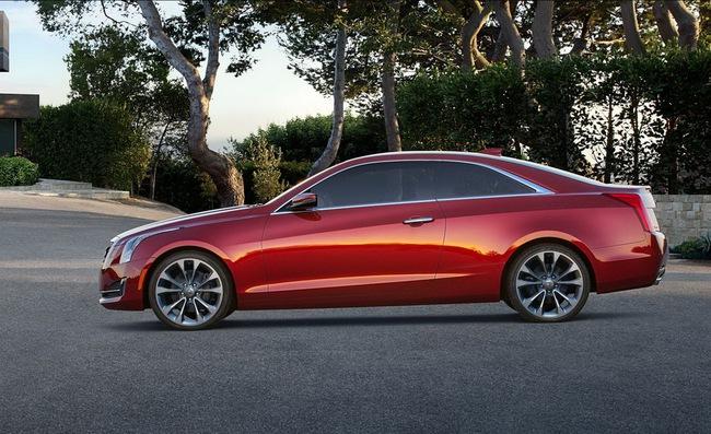 Cadillac ATS Coupe: Đối thủ mới của BMW 4-Series 2