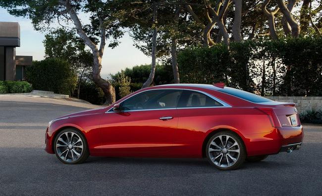 Cadillac ATS Coupe: Đối thủ mới của BMW 4-Series 3