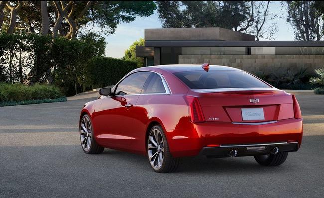 Cadillac ATS Coupe: Đối thủ mới của BMW 4-Series 4
