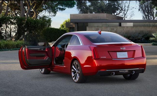 Cadillac ATS Coupe: Đối thủ mới của BMW 4-Series 5