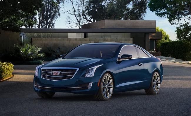 Cadillac ATS Coupe: Đối thủ mới của BMW 4-Series 7