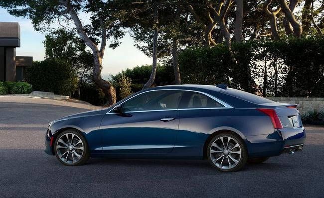 Cadillac ATS Coupe: Đối thủ mới của BMW 4-Series 10