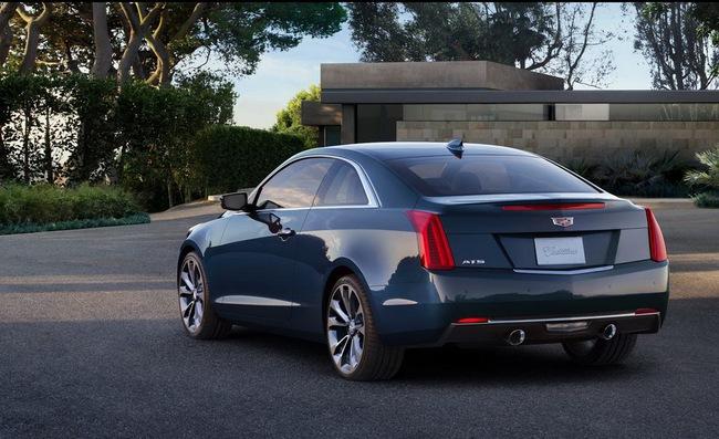 Cadillac ATS Coupe: Đối thủ mới của BMW 4-Series 11