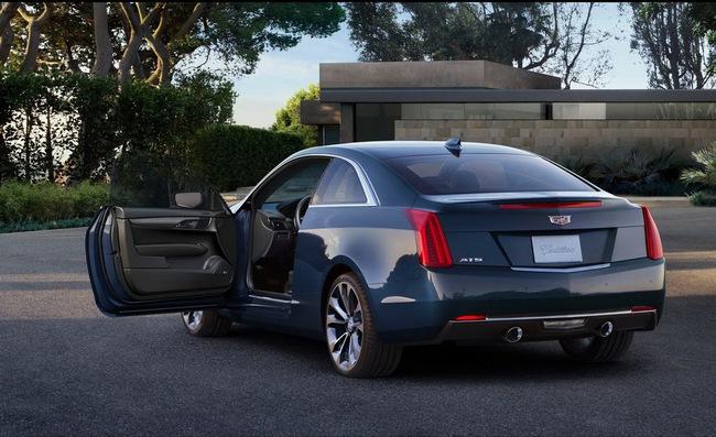 Cadillac ATS Coupe: Đối thủ mới của BMW 4-Series 12