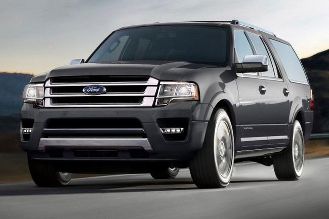 Ford Expedition - Phiên bản giá rẻ của Lincoln Navigator 9