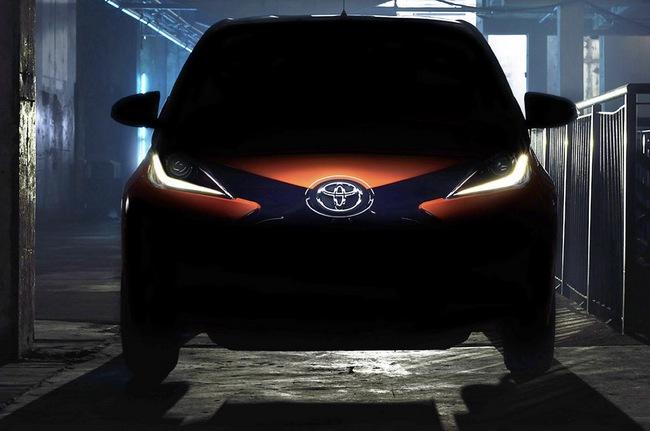 Toyota hé lộ hình ảnh chiếc Aygo mới 1
