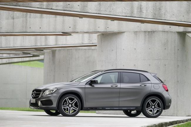 Chi tiết chiếc Mercedes-Benz GLA250 mới 2