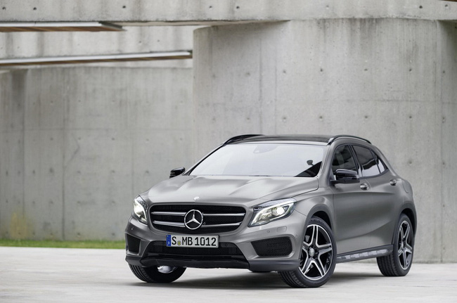 Chi tiết chiếc Mercedes-Benz GLA250 mới 3