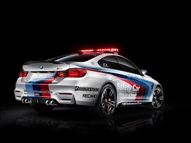 BMW khoe xe an toàn mới tại giải đua MotoGP 3