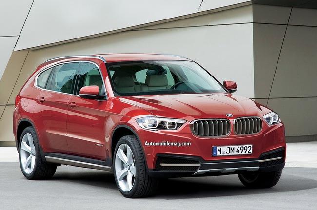 BMW X7 chắc chắn sẽ đi vào sản xuất 1