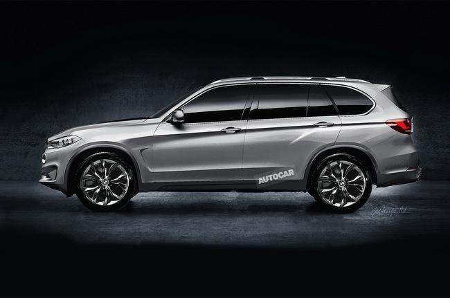 BMW X7 chắc chắn sẽ đi vào sản xuất 2