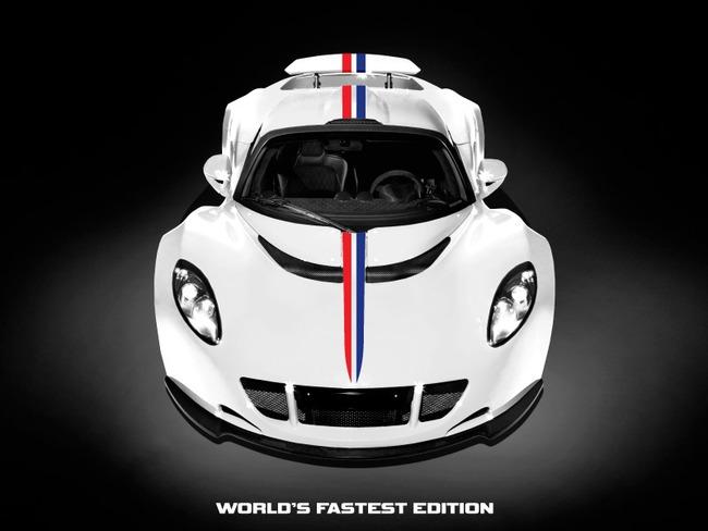 """Hennessey Venom GT phiên bản """"nhanh nhất thế giới"""" 1"""