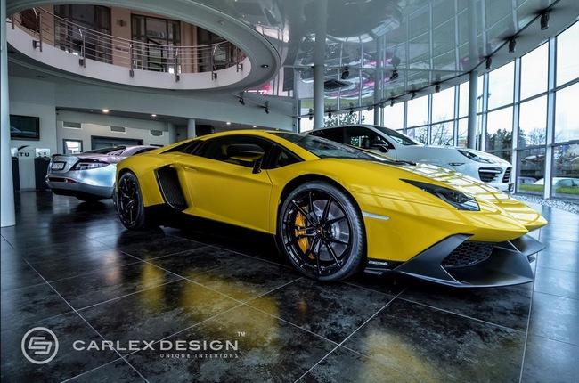 Lamborghini Aventador LP720-4 50º Anniversario với nội thất cực độc 2