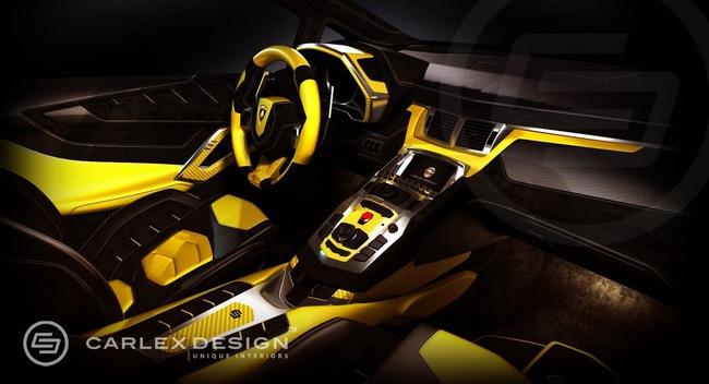Lamborghini Aventador LP720-4 50º Anniversario với nội thất cực độc 4