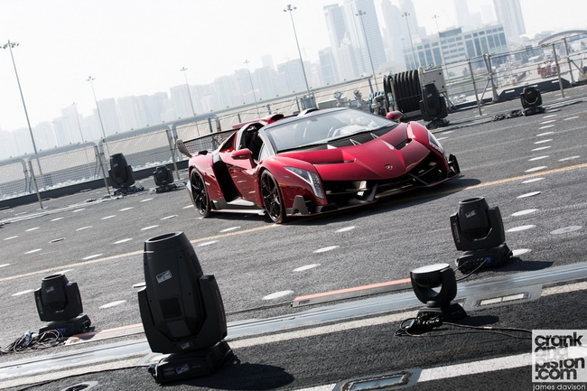 Chưa xuất xưởng, Lamborghini Veneno Roadster bị làm giá 5