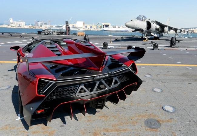 Chưa xuất xưởng, Lamborghini Veneno Roadster bị làm giá 17
