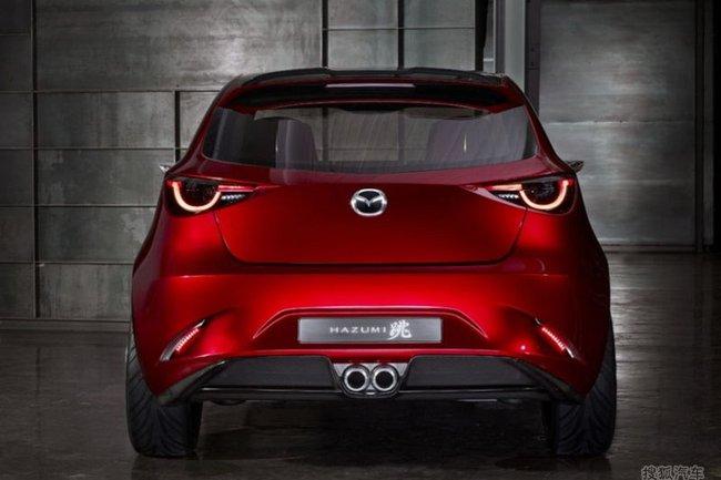 Mazda Hazumi: Hiện thân của Mazda2 thế hệ mới 3