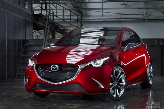 Mazda Hazumi: Hiện thân của Mazda2 thế hệ mới 1