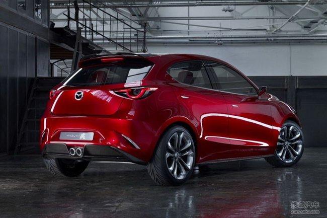 Mazda Hazumi: Hiện thân của Mazda2 thế hệ mới 5