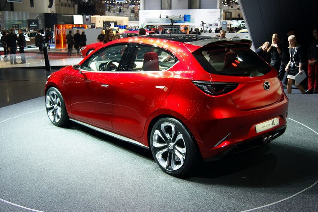 Mazda Hazumi: Hiện thân của Mazda2 thế hệ mới 27