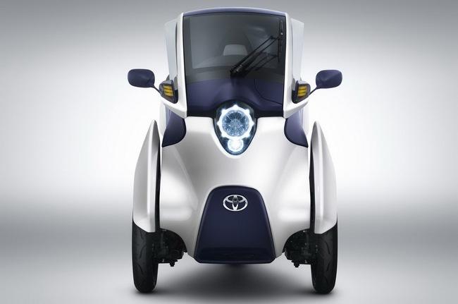 Toyota i-Road bắt đầu đi vào thử nghiệm 1