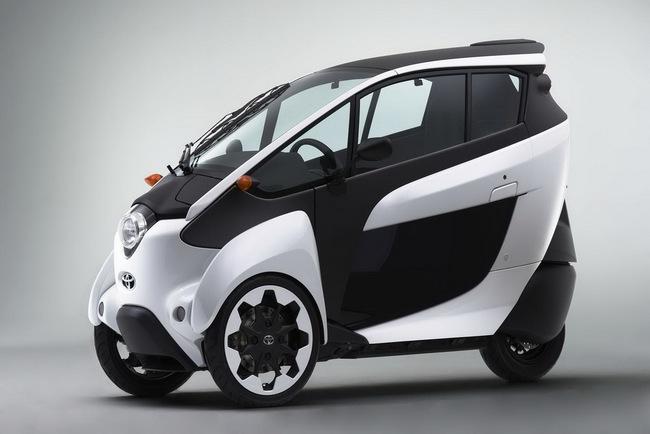 Toyota i-Road bắt đầu đi vào thử nghiệm 4