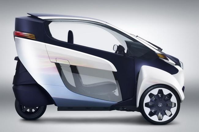 Toyota i-Road bắt đầu đi vào thử nghiệm 5
