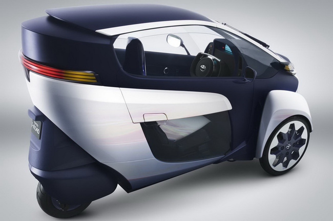 Toyota i-Road bắt đầu đi vào thử nghiệm 6