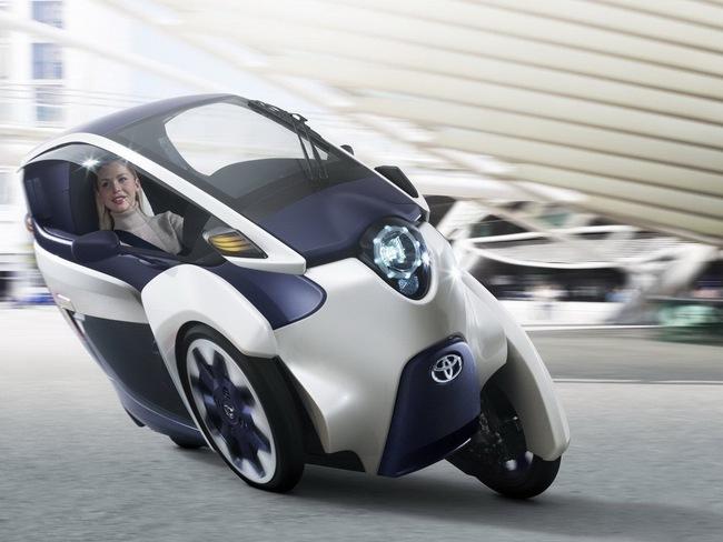 Toyota i-Road bắt đầu đi vào thử nghiệm 8