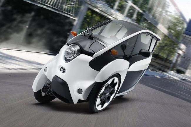 Toyota i-Road bắt đầu đi vào thử nghiệm 9