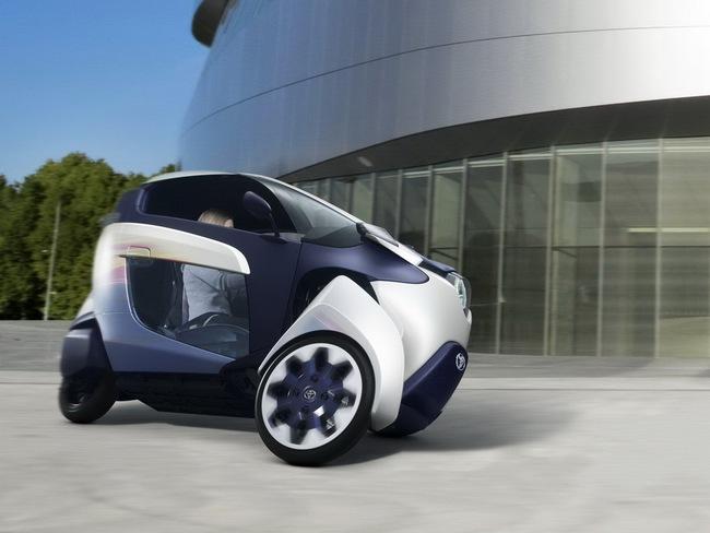 Toyota i-Road bắt đầu đi vào thử nghiệm 10