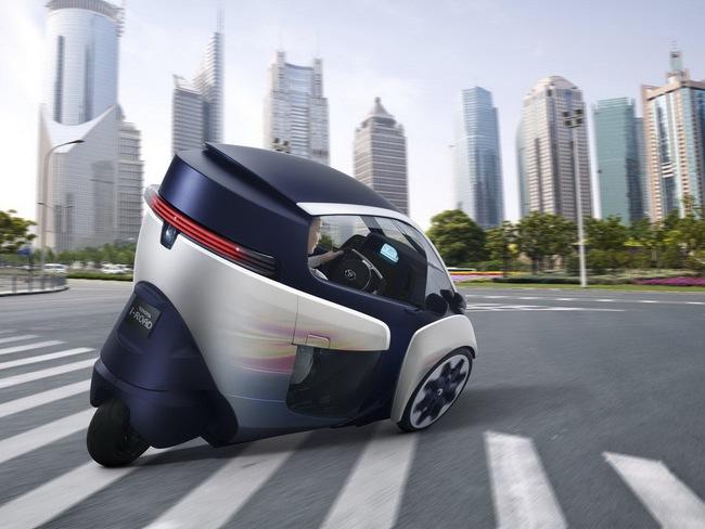 Toyota i-Road bắt đầu đi vào thử nghiệm 11