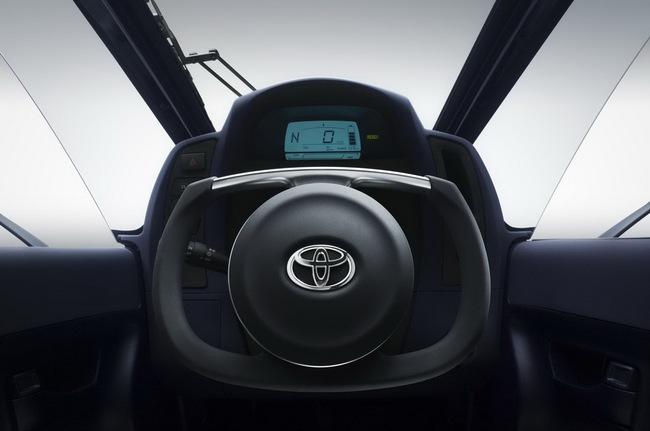 Toyota i-Road bắt đầu đi vào thử nghiệm 15