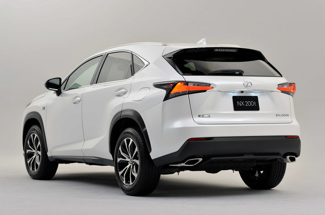 Lexus NX chính thức trình làng 4