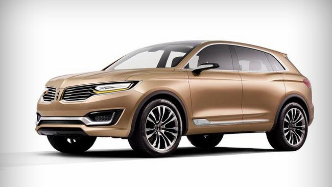 Lincoln MKX Concept chính thức trình làng 4