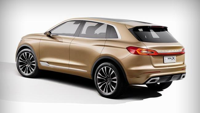 Lincoln MKX Concept chính thức trình làng 5