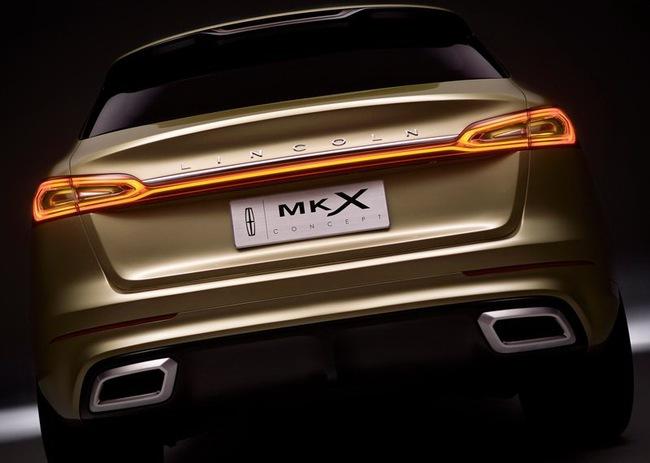 Lincoln MKX Concept chính thức trình làng 9