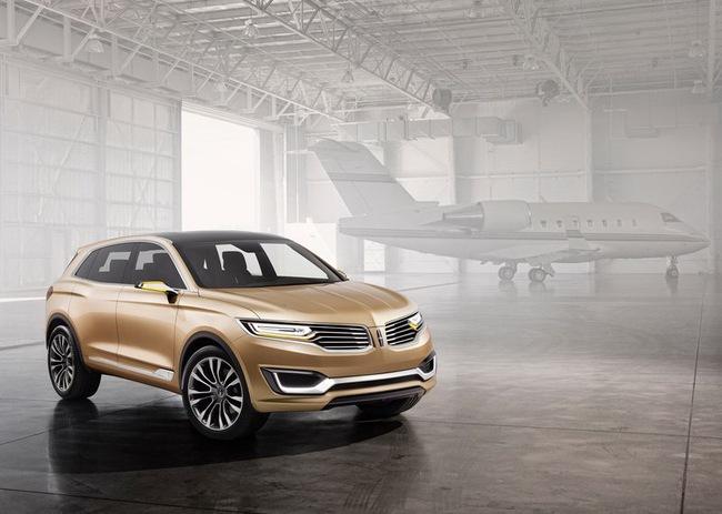 Lincoln MKX Concept chính thức trình làng 12