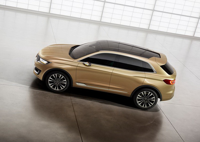 Lincoln MKX Concept chính thức trình làng 16