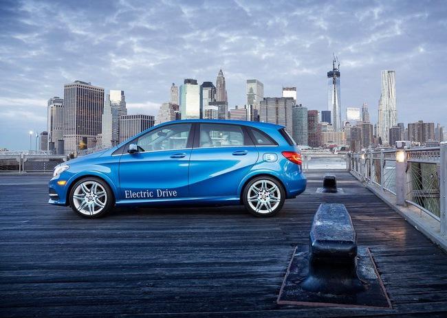 Mercedes-Benz B-Class Electric Drive có giá từ 41.450 USD 3