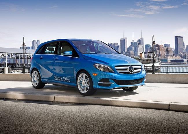 Mercedes-Benz B-Class Electric Drive có giá từ 41.450 USD 6