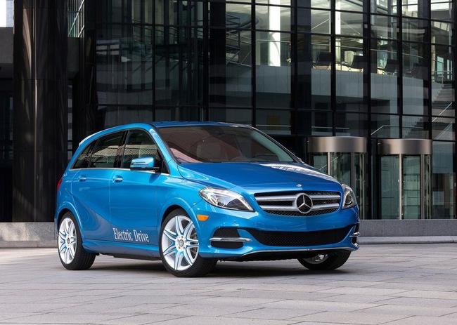Mercedes-Benz B-Class Electric Drive có giá từ 41.450 USD 7