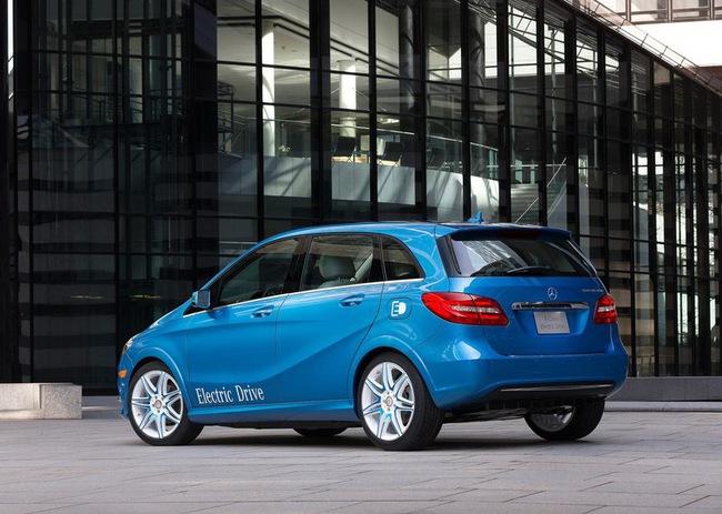 Mercedes-Benz B-Class Electric Drive có giá từ 41.450 USD 8