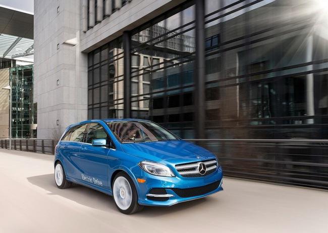 Mercedes-Benz B-Class Electric Drive có giá từ 41.450 USD 9