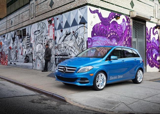 Mercedes-Benz B-Class Electric Drive có giá từ 41.450 USD 12
