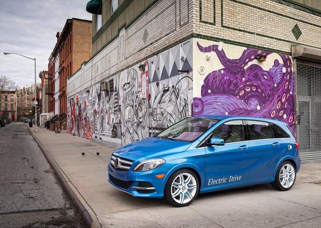 Mercedes-Benz B-Class Electric Drive có giá từ 41.450 USD 13
