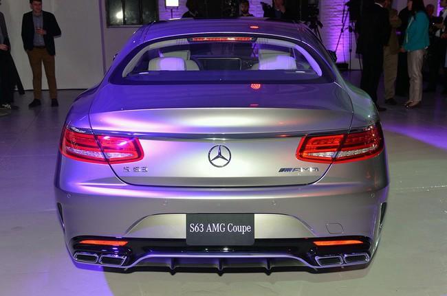 Mercedes-Benz S63 AMG Coupe 2015: Thể thao, mạnh mẽ và sang trọng 2