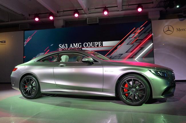 Mercedes-Benz S63 AMG Coupe 2015: Thể thao, mạnh mẽ và sang trọng 7
